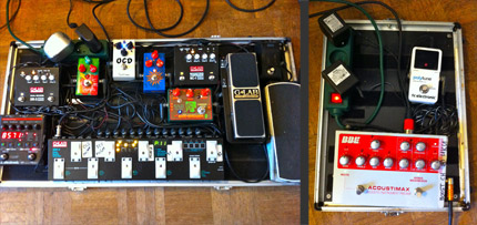 Photo Pedalboard Fabien Mornet